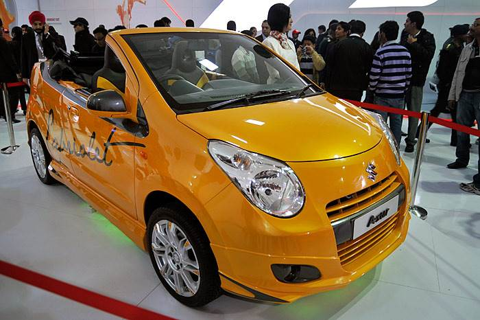 Maruti Concepts at the Expo
