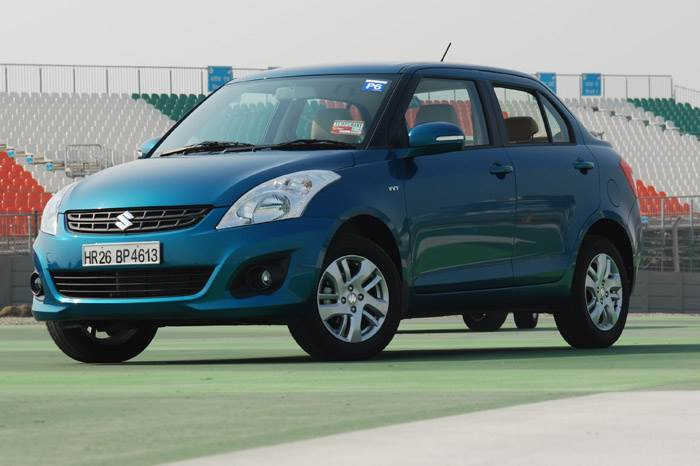 New 2012 Swift Dzire Gallery