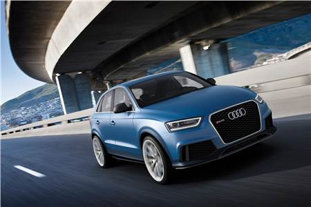 Audi RS Q3 concept image gallery