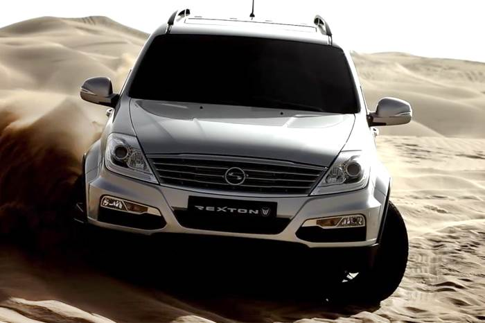 New SsangYong Rexton photos