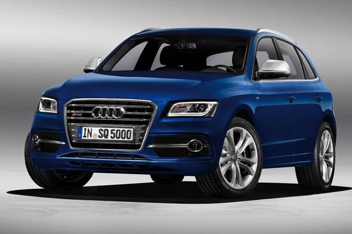 Audi SQ5 TDI detailed image gallery