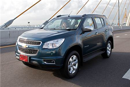 New Chevrolet Trailblazer pics