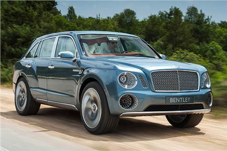 Bentley EXP 9 F photos