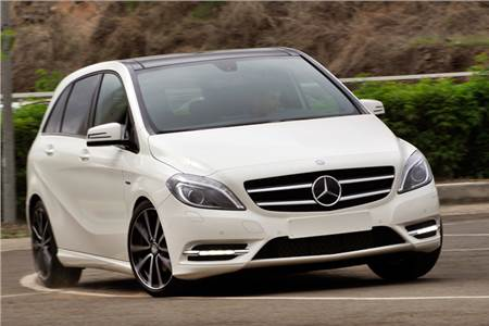 Mercedes B-Class detailed gallery