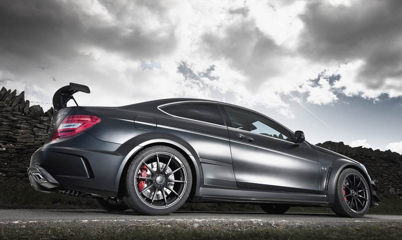 Mercedes C63 Amg Coupe Black Series Autocar India