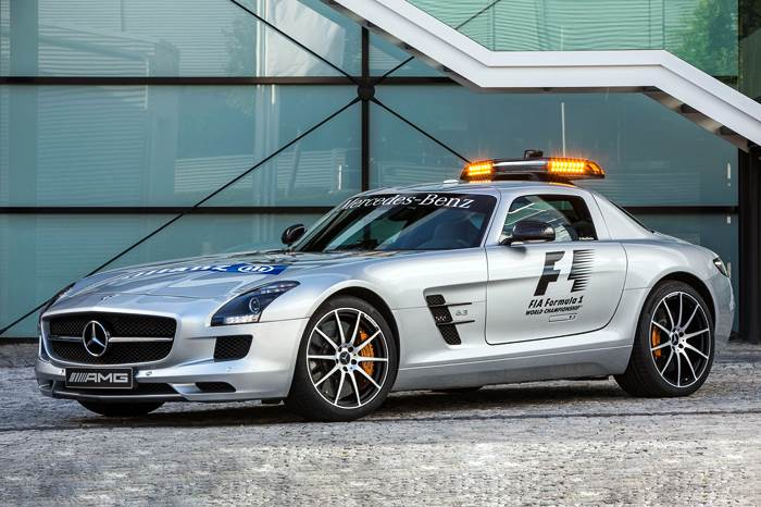 SLS AMG GT is new F1 Safety Car