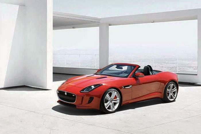 New Jaguar F-type photos