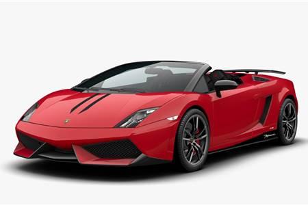 Lamborghini Gallardo Spyder Edizone Tecnica