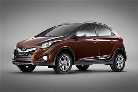 Hyundai HB20X Photo gallery