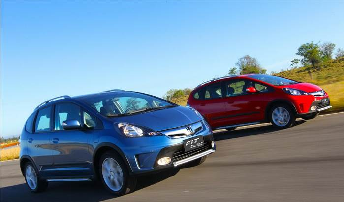 Honda Fit (Jazz) Twist photo gallery