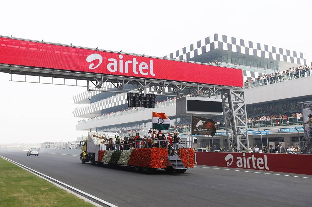 Indian GP: Behind-the-scene photos