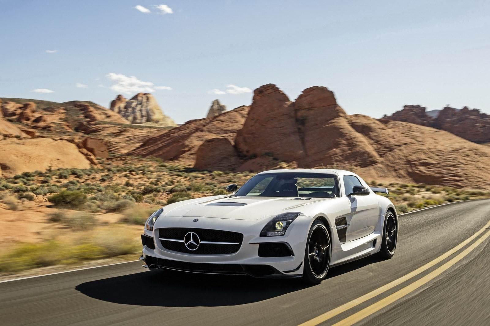 Mercedes SLS Black Series Photo gallery