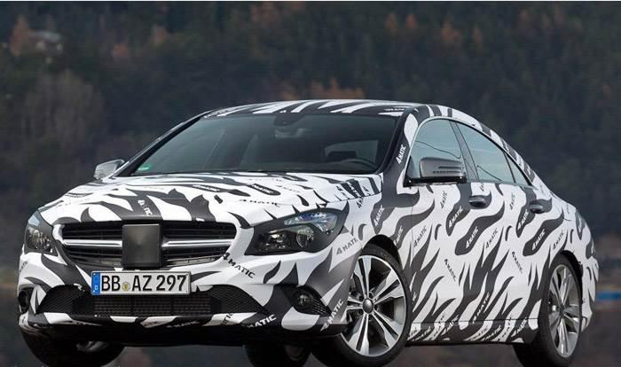 Mercedes CLA Saloon teaser images