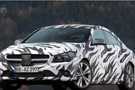 Mercedes CLA Saloon teaser images