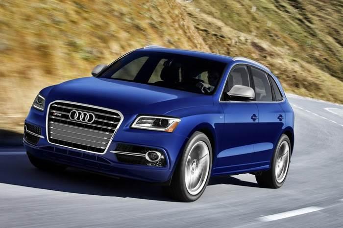 Audi SQ5 FSI photo gallery