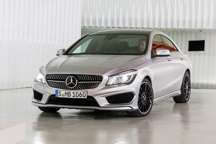 Mercedes CLA compact saloon photo gallery