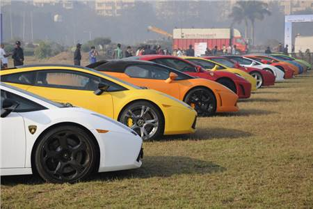 Parx Super car Show 2013 exclusive photo gallery