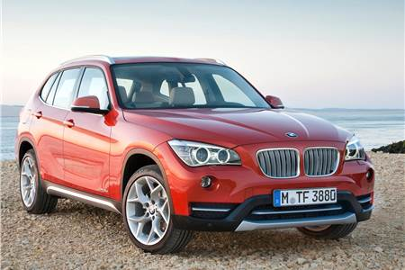 2013 BMW X1 facelift photo gallery