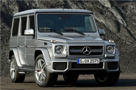 Mercedes G63 AMG photo gallery