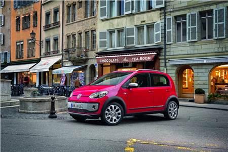 New Volkswagen CrossUp photo gallery