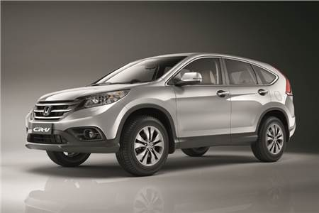 New 2013 Honda CR-V photo gallery