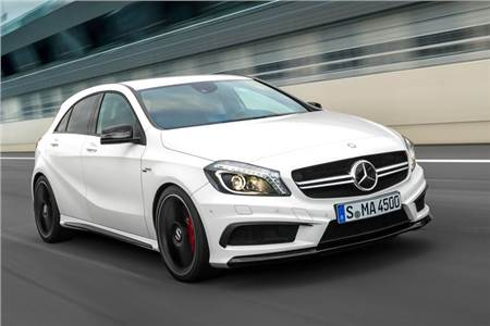 Mercedes Benz A45 AMG photo gallery