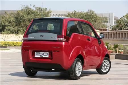 Mahindra e2o detailed photo gallery
