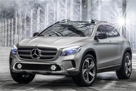Mercedes-Benz GLA Concept photo gallery