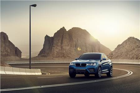 New BMW X4 concept photo gallery