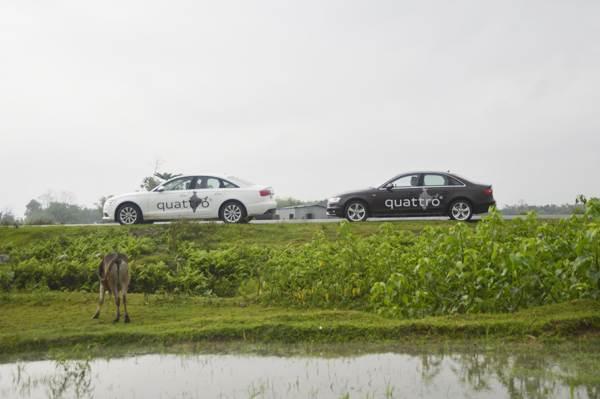 Audi Great India quattro Drive 1 photo gallery