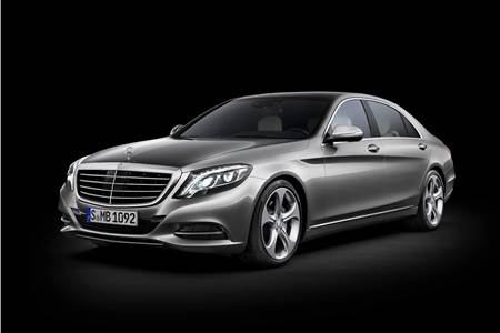 New 2014 Mercedes S-class official photo gallery