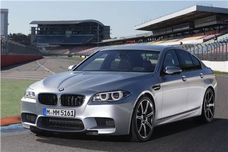 BMW 5-series facelift photo gallery