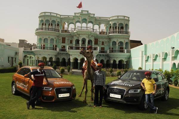 Audi Great India quattro Drive 2 photo gallery