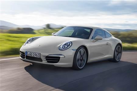 Porsche 911 50 years edition photo gallery