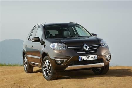 Renault Koleos facelift photo gallery