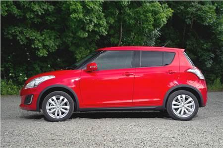 Suzuki Swift facelift 4X4 photo gallery