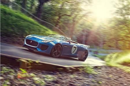 New Jaguar Project 7 photo gallery