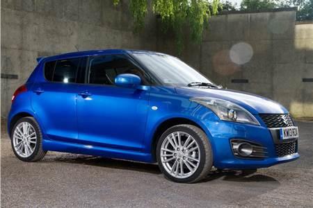 New 2013 Suzuki Swift Sport photo gallery