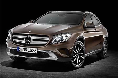 Mercedes Benz GLA photo gallery