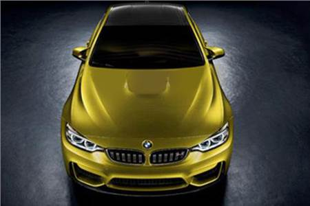 New BMW M4 concept photo gallery
