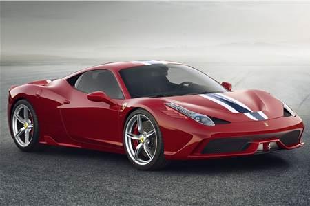 New Ferrari 458 Italia Speciale photo gallery