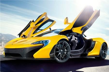 New McLaren P1 supercar photos