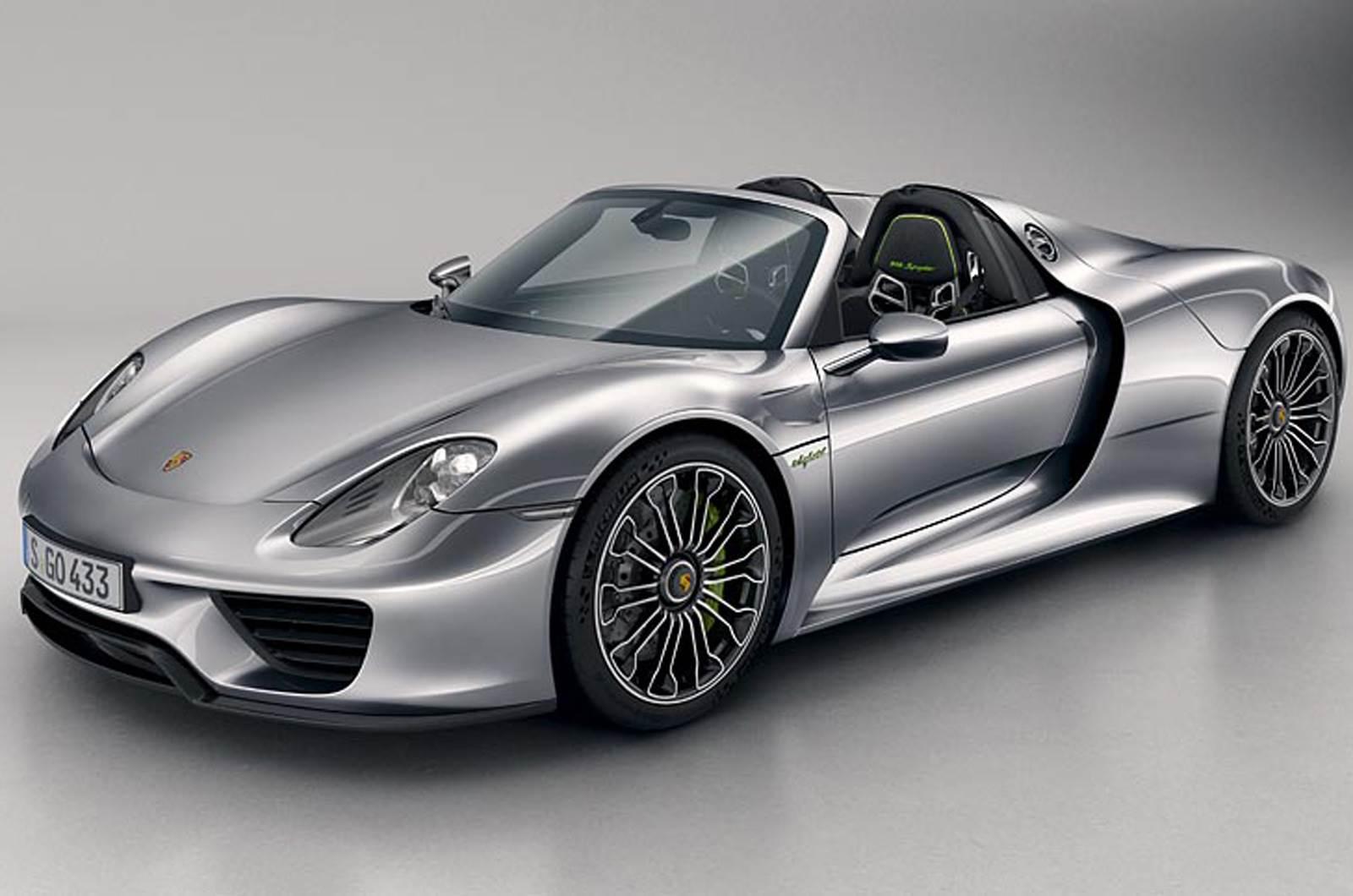 Porsche 918 Spyder photo gallery