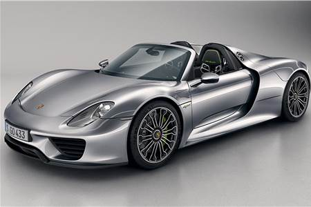Porsche 918 Spyder photo gallery