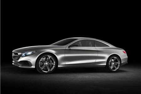 Mercedes S-Class coupe photo gallery