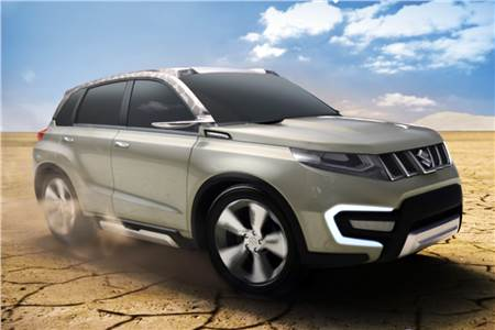New Suzuki iV-4 concept SUV photo gallery
