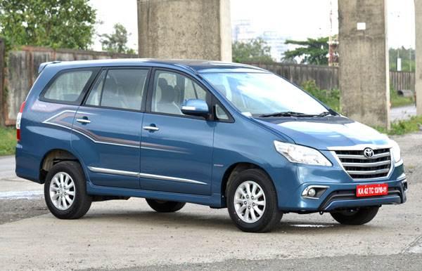 toyota innova facelift photo gallery autocar india