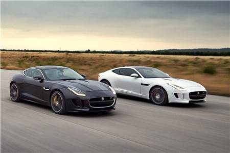 New Jaguar F-Type Coupe photo gallery