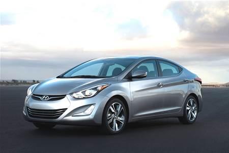 Hyundai Elantra facelift photo gallery
