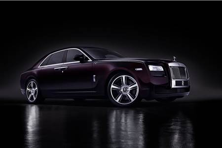 Rolls Royce Ghost V-Specification photo gallery